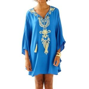Lilly Pulitzer Emera embellished caftan dress s/m